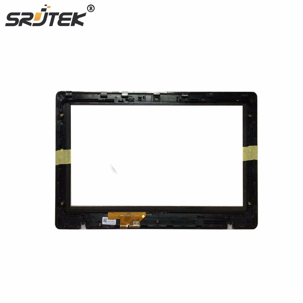 Srjtek 11.6'' For Asus Vivobook X200MA X200CA X200LA Digitizer Touch Screen Glass with Frame TCP11F16 V1.1 13NB02X6AP0201 casio sports stl s100h 4a