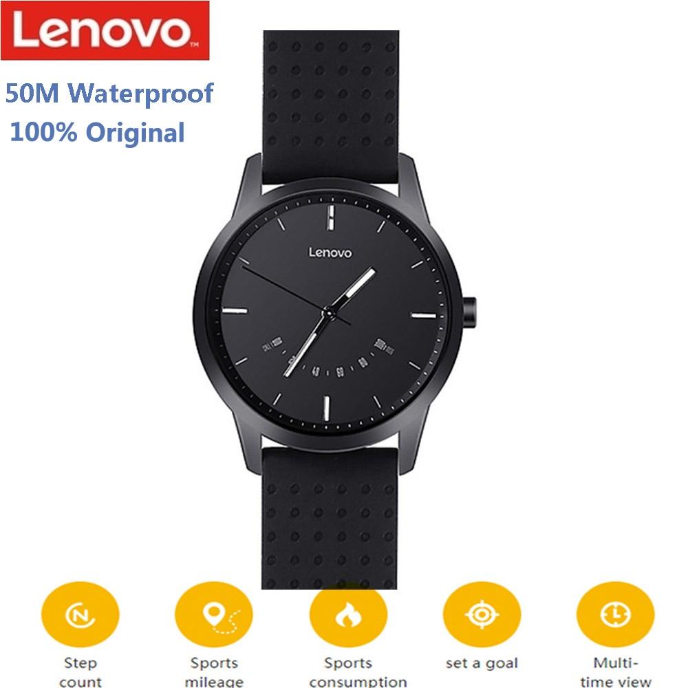 Lenovo reloj 9 Bluetooth Smartwatch 50 m impermeable Sleep Monitor teléfono Call Reminder Fitness Tracker Smart Watch para IOS Android