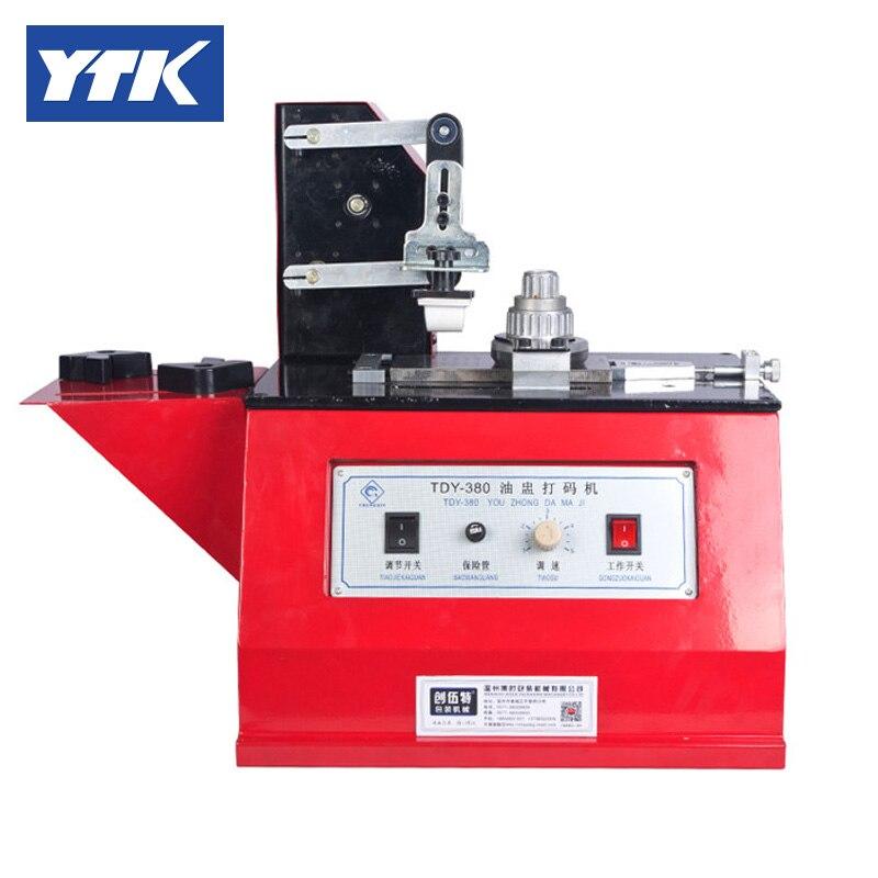 YTK Date Printer Glass Bottle or Plastic Bottle Coding Machine grind