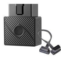 Mini plug de rastreamento obd gps  mini dispositivo de rastreamento do veículo com plug  gsm obdii obd2 16 pinos de interface x2