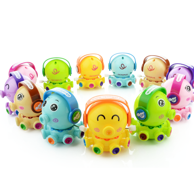 cute children funny educational on the chain of small toys for kids rotating fun toot small