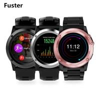 Fuster MTK6572 Çift Çekirdekli Android Akıllı Izle desteği NANO Sim kart HD Kamera ile GPS 3G Wifi için Spor Smartwatch sörf
