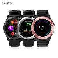 Fuster mtk6572 ثنائي النواة الروبوت الذكية ووتش دعم نانو سيم بطاقة مع hd كاميرا gps الرياضة smartwatch ل 3 جرام wifi تصفح
