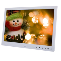 15 inch HD Touch Screen Digital Photo Frame MP3 MP4 Movie Player Alarm Photo Frames Photo Digital Photos Frames