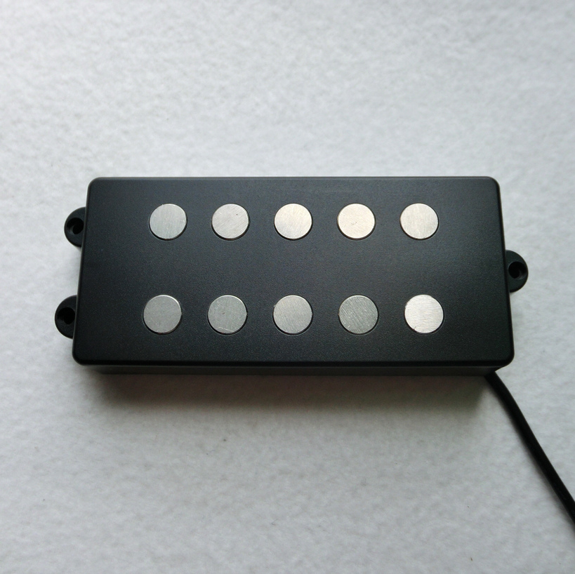 Free Shipping guitar parts Music man bass pickup large Alnico 5 rod 5 string pickup for