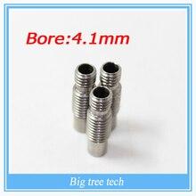 Free shipping 1pcs 3D V6 Stainless steel Nozzle Throat Feeding Tube Throat for 1 75 3