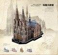Cubicfun 3D Puzzle Toys 179PCS Germany Cologne Cathedral Model MC160h Children's Gift