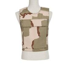 New Military Tactical Kevlar Bullet Proof Vest NIJ AK 47 carrier  bulletproof board police swat protection Vest  Free Shipping