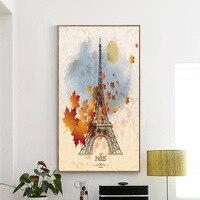 Paris Tour Eiffel Photo Paysage Plein Diamant Peinture Moderne Style Simple Travail Manuel Mosaïque BRICOLAGE Broderie Diamant Peintures