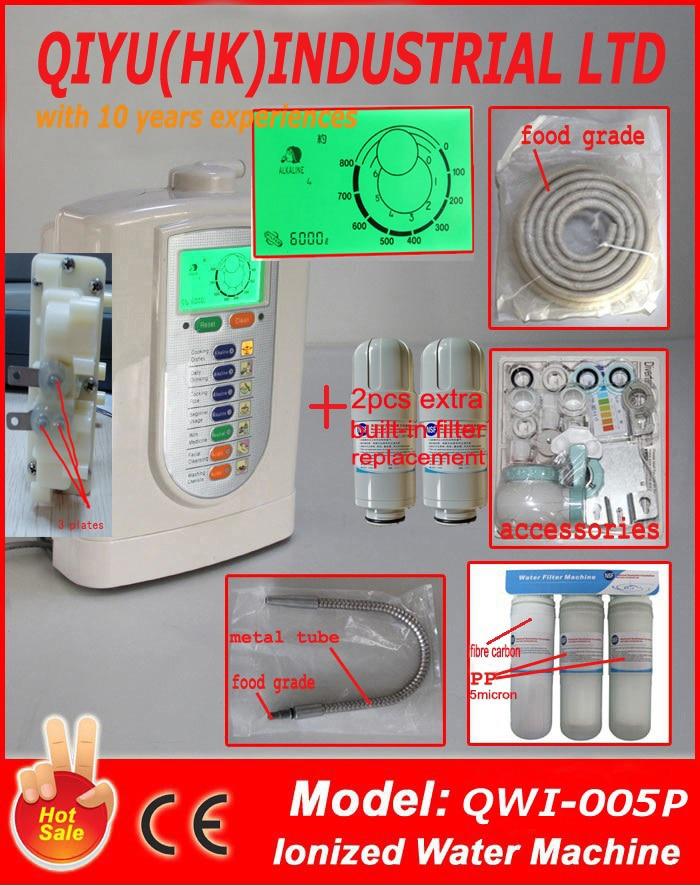 Kangen ioniseur/hydrogène de l'eau/micro-clusters eau (JapanTech, Taiwan factry) intégré NSF filtre + 3 stade préfiltre + 2 pcs extrafilt)