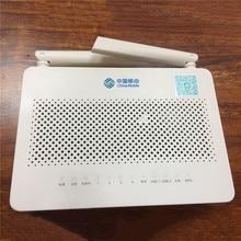 HOT verkoop HUAWEI HS8546V5 FTTH GPON ONU ONT 4GE 4 Poort + 1TEL + 2USB Met 2.4G & 5G Dual Band WiFi, engels Interface Met Mobiele Logo