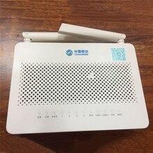 ホット販売 HUAWEI 社 HS8546V5 FTTH GPON ONU ONT 4GE 4 ポート + 1TEL + 2USB と 2.4 グラム & 5 グラムデュアルバンド無線 Lan 、英語インタフェース携帯ロゴ