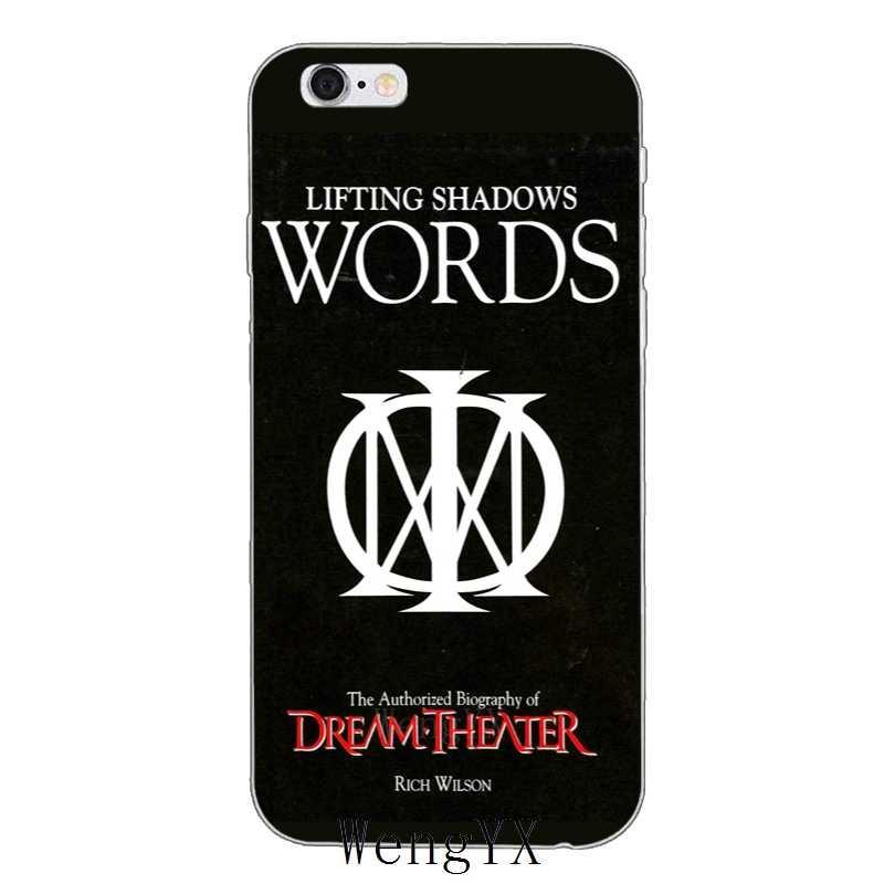 Dream Theater логотип прозрачный мягкий тонкий чехол из силикона мягкий чехол для телефона для Sony Xperia XA Z Z1 Z2 Z3 Z4 Z5 Премиум компактный мини M2 M4 M5 E3 T3