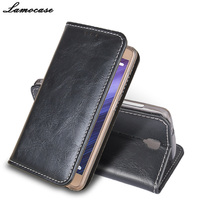 High Quality New Painted Flip Pu Genuine Leather Case For ZTE Blade L5 Plus Cover Skin