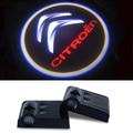 Coche LED Bienvenidos Luz Logo Para Citroen Berlingo C3 C4 C5 C2 C1 Saxo Xantia Xsara 1 C4l ds3 ds4 ds5 C8Jumper Apoyabrazos Picasso
