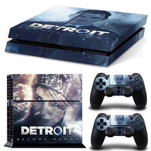 Detroit Become Human Game Accessories Skin Sticker for PS4