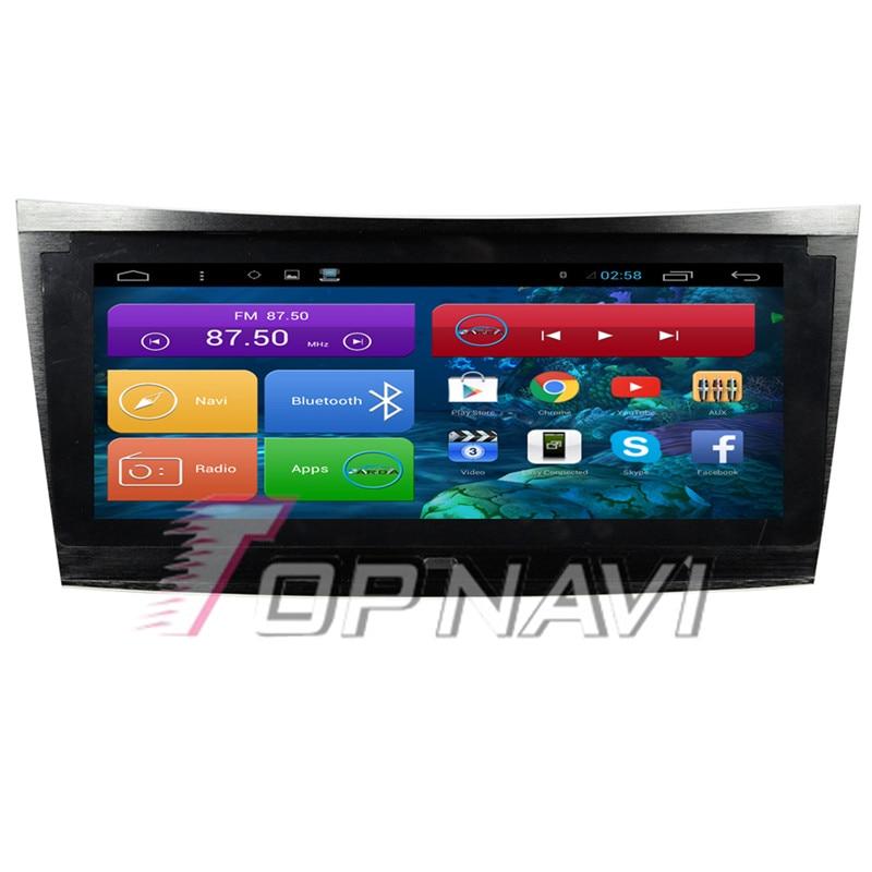 TOPNAVI 8 8 Quad Core Android 6 0 Car GPS Navigation for E Class 2002 2003