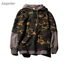 camouflage hoodies women Sweatshirts autumn hoodie sweatshirt hip hop skateboard Laipelar