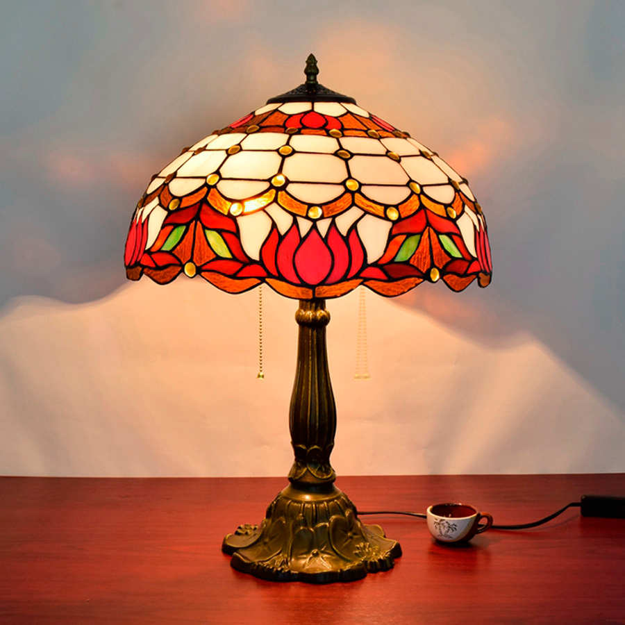 China red glass table lamp china glass table lamp - Red Glass Ball Table Lamps