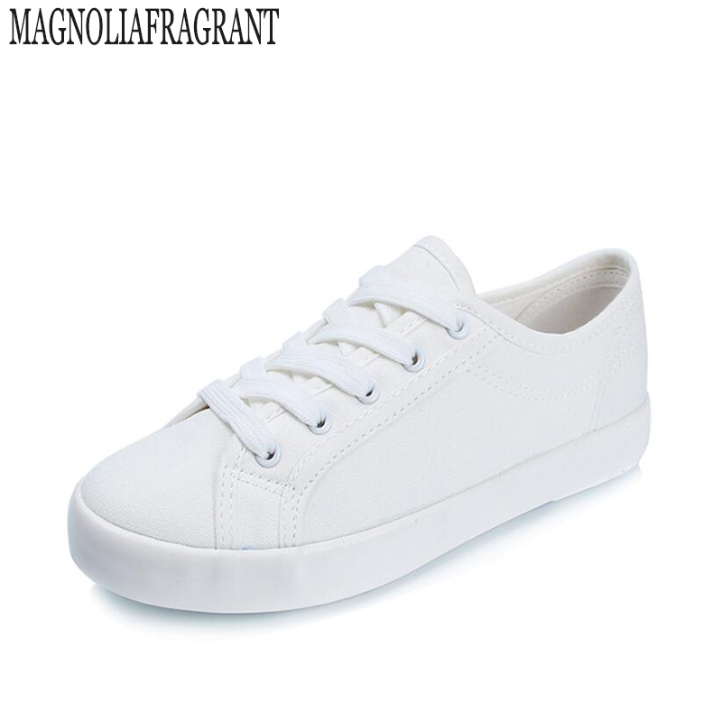 2017 new Korean version of woman white shoes white cotton cloth shoes canvas shoes soft and comfortable casual shoes w347 blue and white canvas anti static shoes esd clean shoes pharmaceutical shoes work shoes add cotton