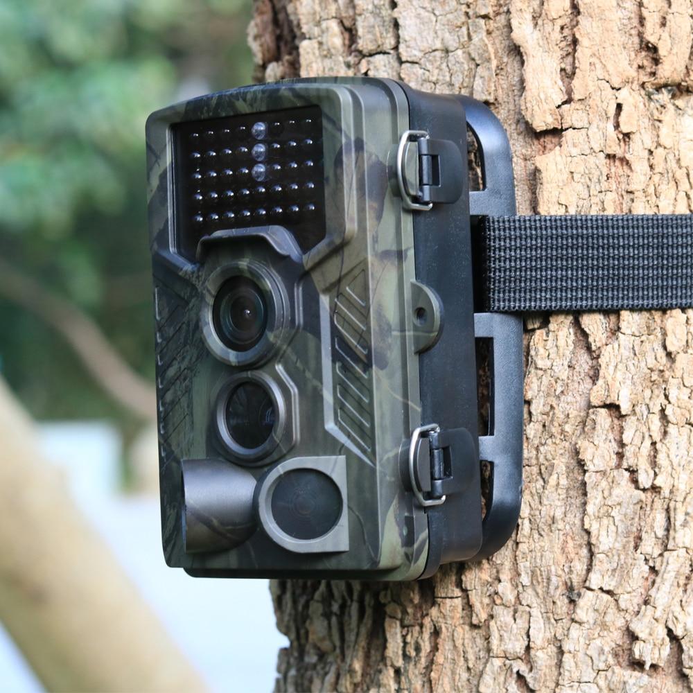 Suntekcam cámara de caza camino cámaras HC800A 16MP 0,5 s gatillo HD Digital de infrarrojos de visión nocturna salvaje foto trampas cámaras
