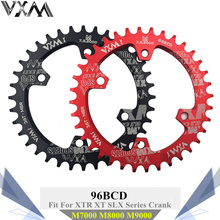 VXM Round 96BCD Chainring MTB Mountain BCD 96 bike bicycle 32T 34T 36T 38T crankset Tooth plate Parts for M7000 M8000 M9000