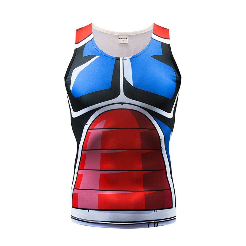 Dynamic Streetwear Tank Tops Men Women Vest Naruto Male Singlet Casual Tops&tee Fitness Tight Bodybuilding Sleeveless Summer Zootop Bear Skilful Manufacture Tops & Tees