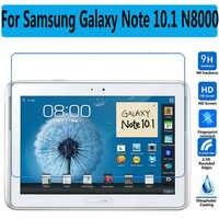 HD Vidro Temperado Para Samsung Galaxy Note 10.1 N8000 N8010 Tablet Filme Protetor de Tela Premium Para Samsung Nota 800 De Vidro filme