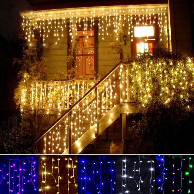 LED Curtain Garland for Wall Decoration