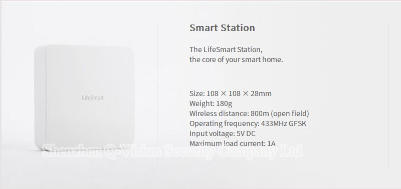 13--Lifesmart Smart Station Top Brand RF433MHz Wireless Smart Home Automation System WIFI Remote Control via VIA IOS Android Phone