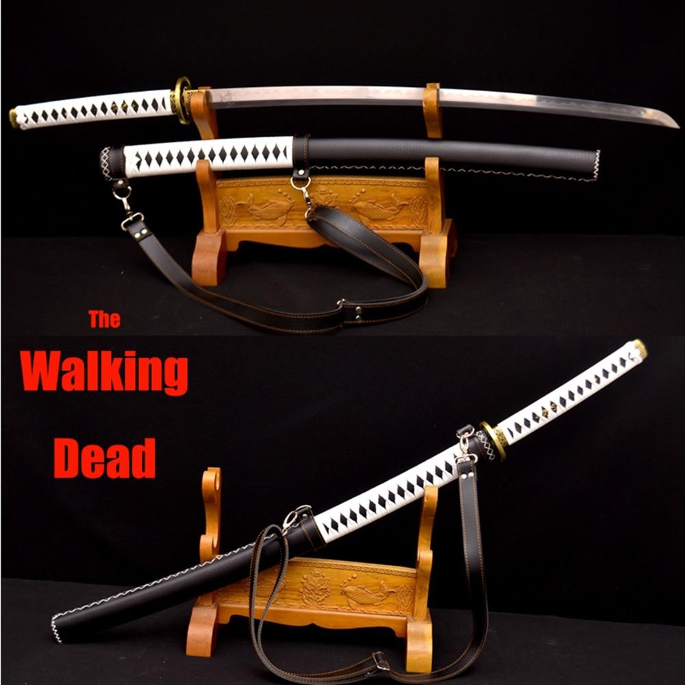 Săbii moarte japoneze care se execută din piele înfășurată din - Decoratiune interioara