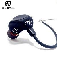 Vrme Sport Headphones KZ ZS3 Ergonomic Detachable Cable Earphones And Headphone Hifi Bass Stereo Headset Earbuds