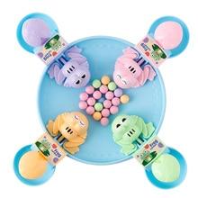 Голодная лягушка, поедающая бобы, детские игры, игрушка для семьи, конкурентоспособная интерактивная игрушка для снятия стресса, интересные игры
