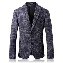 2019 spring autumn men casual Blazer suit mens woolen suit Jacket slim fit Men's classic smart casual blazer for male S-4XL 6218 men s casual blazer leopard print turndown collar long sleeve slim fit casual suit