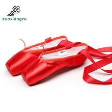 лучшая цена Satin Ballroom/latin Shoes Professional Girls Ladies Ballerina Dance Shoes With Ribbons Professional Comfortable Dance Shoes