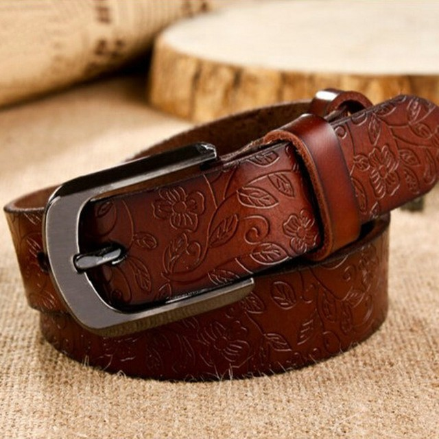 Free shipping/genuine leather belts for woman/metal buckle/waistband/Genuine leather women belt/designer ceinture femme/wlb011