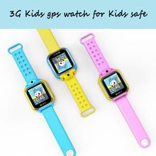 Купить онлайн Q200 3G GPS для смарт часы для маленьких детей GPS с трекера SmartWatch для iOS и Android traker smart смотреть детское