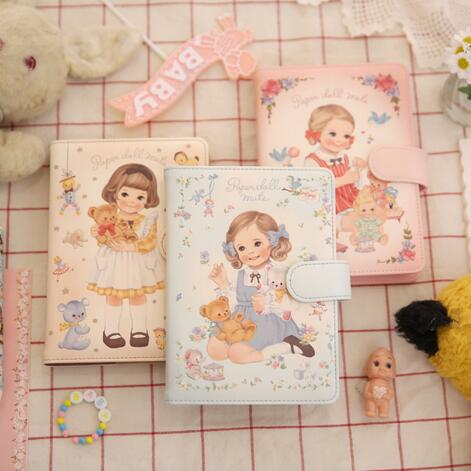 Cute Colorful Floral Design Portable Daily 2018 Planner Lovely Doll Girl Scheduler 256P 11.8*15.4*2.3cm Agenda Gift комплект аксессуаров для волос lovely floral