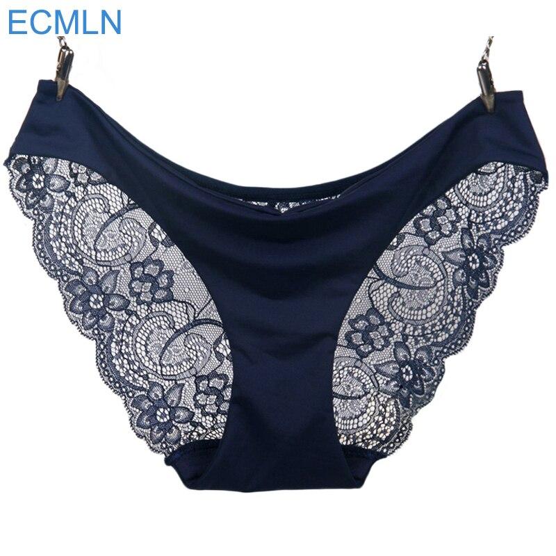 2017 New arrival ECMLN women'slace majtki bezszwowe majtki figi bielizna bliscy