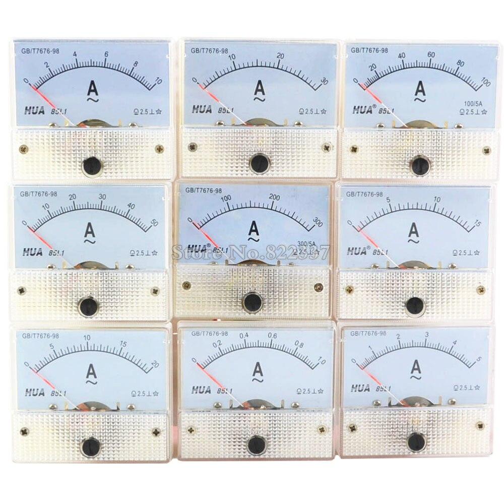 85l1 A Ac Amp Meters Analog Meter Panel Measuring Range