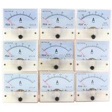 85L1-A AC Amp Metros Painel Analógico Medidor Faixa De Medição 75A 5A 10A 15A 20A 30A 50A 100A 200A 300A Micro Atual