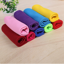 Hot Sale Korean Magic Ice Towel Explosion Sports Summer-proof  of Monochrome All-polyester Cold Sens