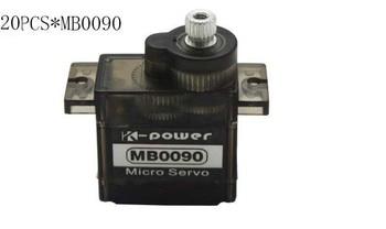 20pcs K-power MB0090 3kg torque  Analog metal gear servo/9g servo/rc car servo