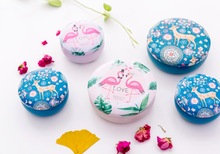 Colorful mini tin Metal box Sealed jar packing boxes jewelry, candy small storage cans Coin earrings headphones gift