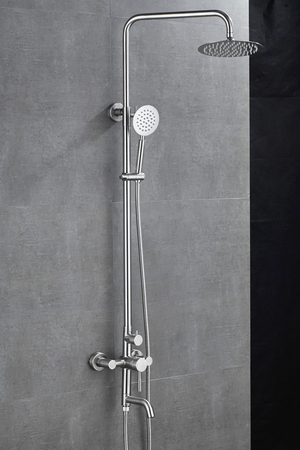 Xogolo Bathroom European Shower System Rainfall Shower Head ...