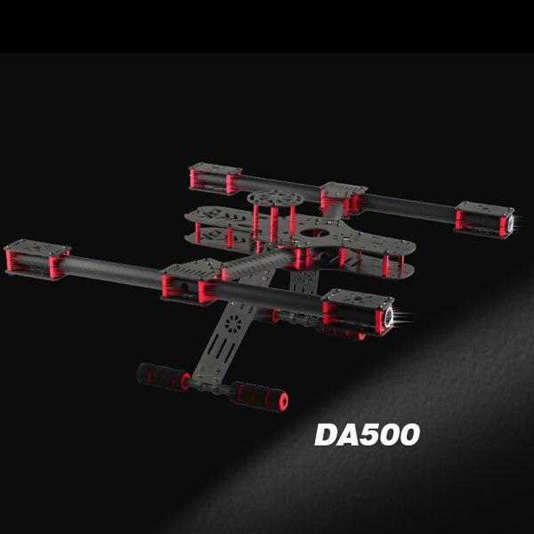 DA500 Carbon Fiber Mini Quadcopter Octacopter X4 X8 Frame set for FPV Photography carbon fiber zmr250 c250 quadcopter