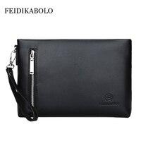Brand Large Capacity Wallets Clutch Bag Men S Hand Bag Envelope Bag Men S Zipper Hand