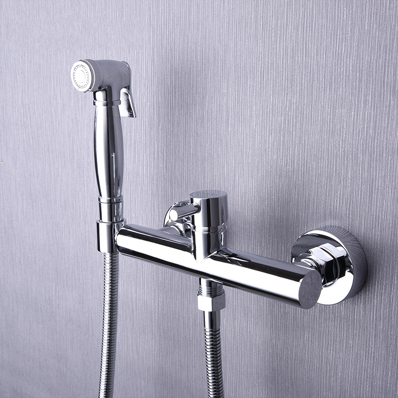 Toilet Bathroom Hand held Bidet Spray Shattaf Sprayer Jet Douche ...