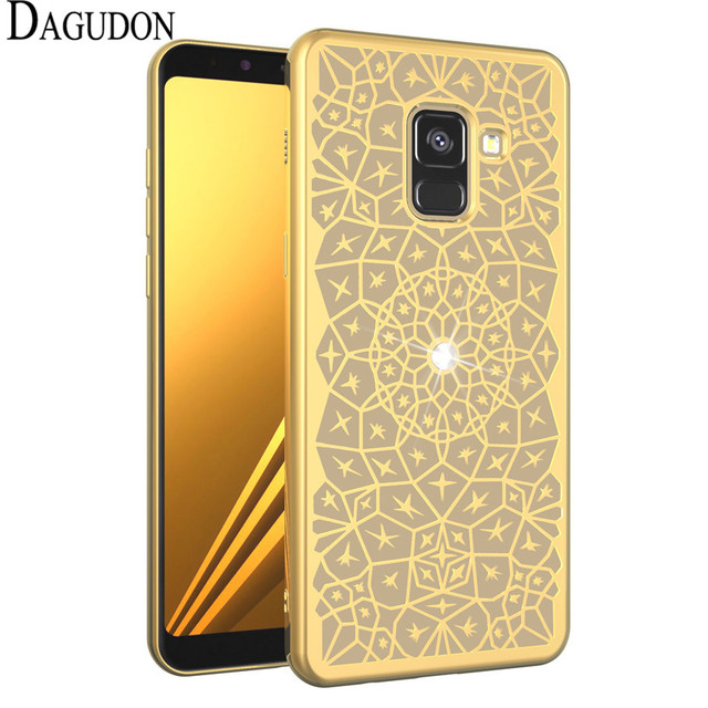 Dagudon Luxury Bling Case For Samsung Galaxy A8 2018 Soft Diamond