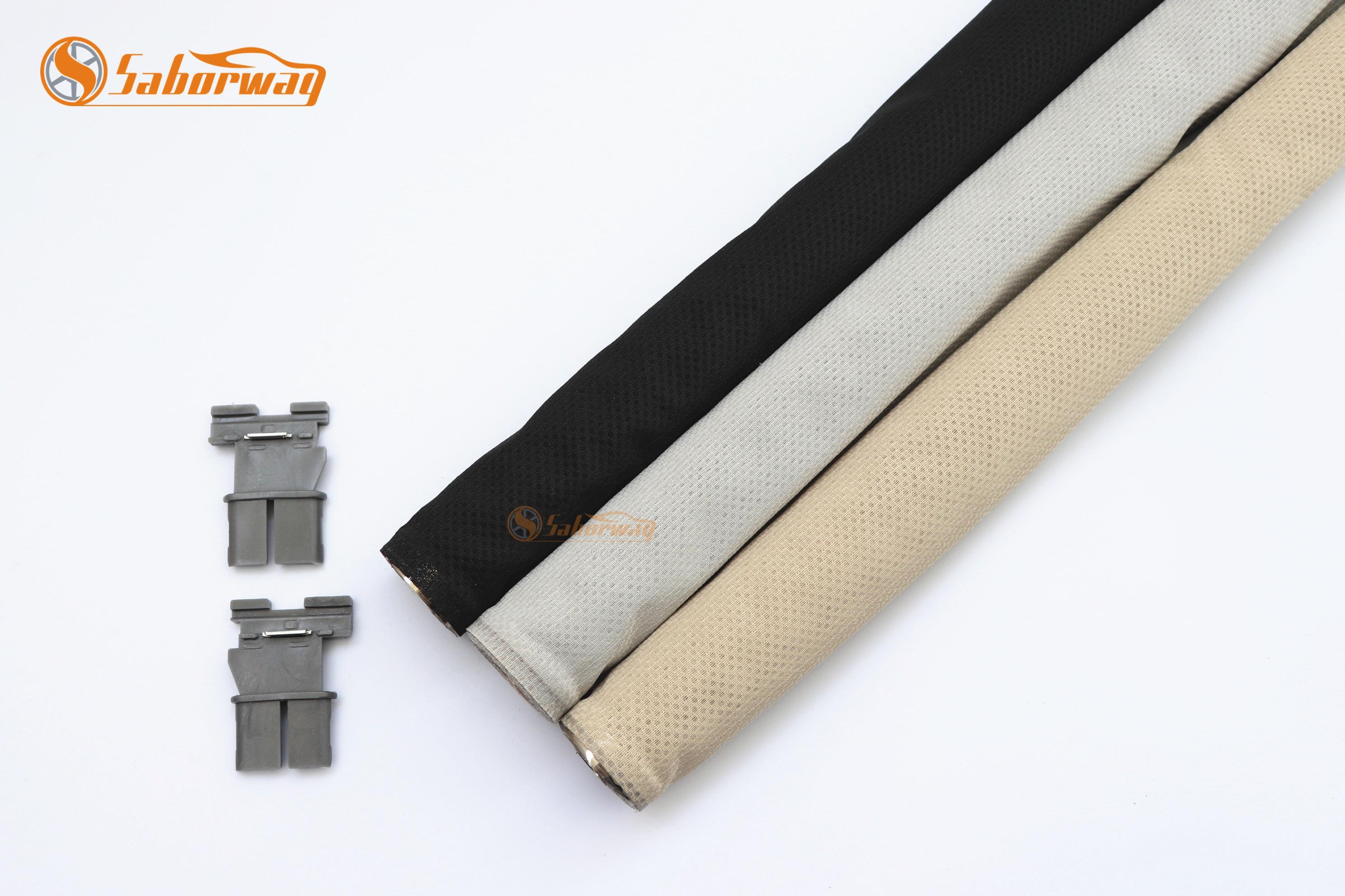 Saborway preto bege ou cinza clarabóia do obturador do pára-sol cortina para q5 sharan novo estilo tiguan 1k9877307a 5nd877307